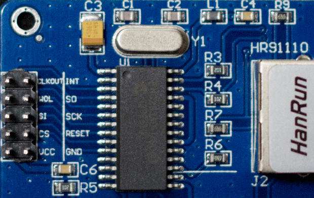 Arduino Ethernet Network Module